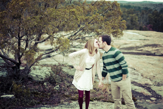 A Mountain Top Engagement by Kelly Is Nice Photography | www.kellyisnice.com