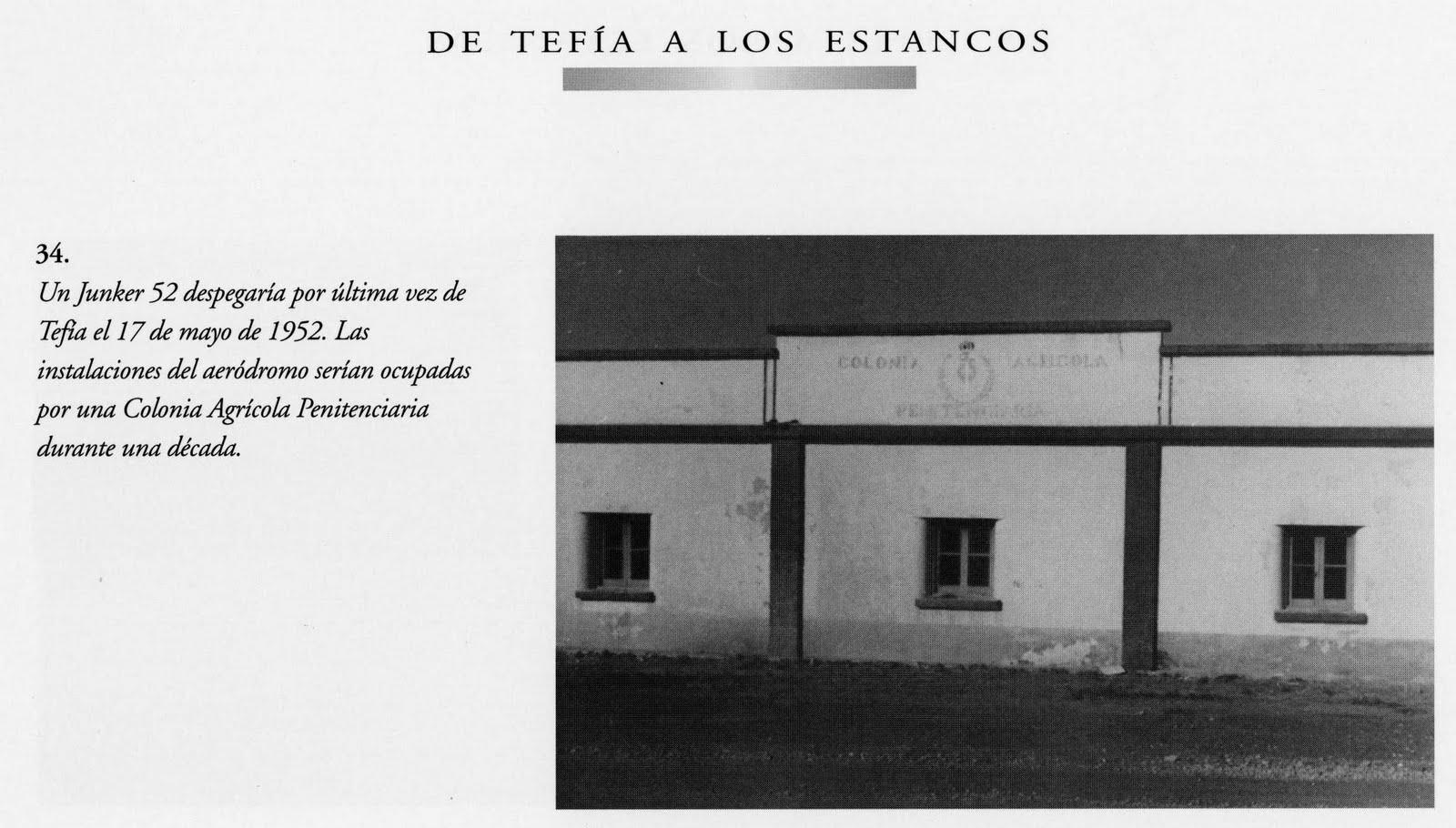 Cuaderno de puerto de cabras apunte sobre el centro for La colonia penitenciaria