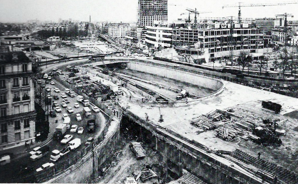 1960 la construction du p riph rique paris unplugged - Porte maillot arrondissement ...