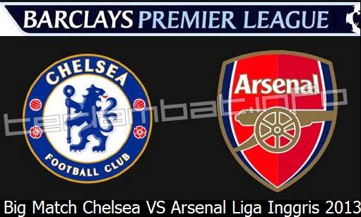 Prediksi Chelsea VS Arsenal 2013