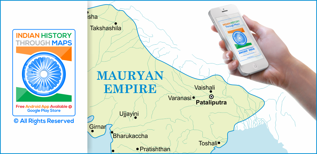 Free Ancient Indian History Maps App - Download Now!!