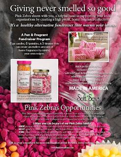 Pink Zebra Candle Fundraiser image