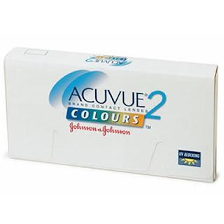 Lentes de Contato Coloridas Preço: Acuvue, caixa com 2 lentes por R$42,00