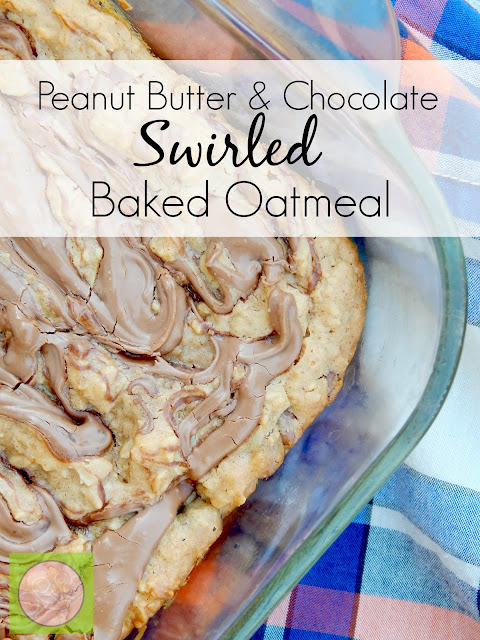 peanut butter and chocolate swirled baked oatmeal (sweetandsavoryfood.com)