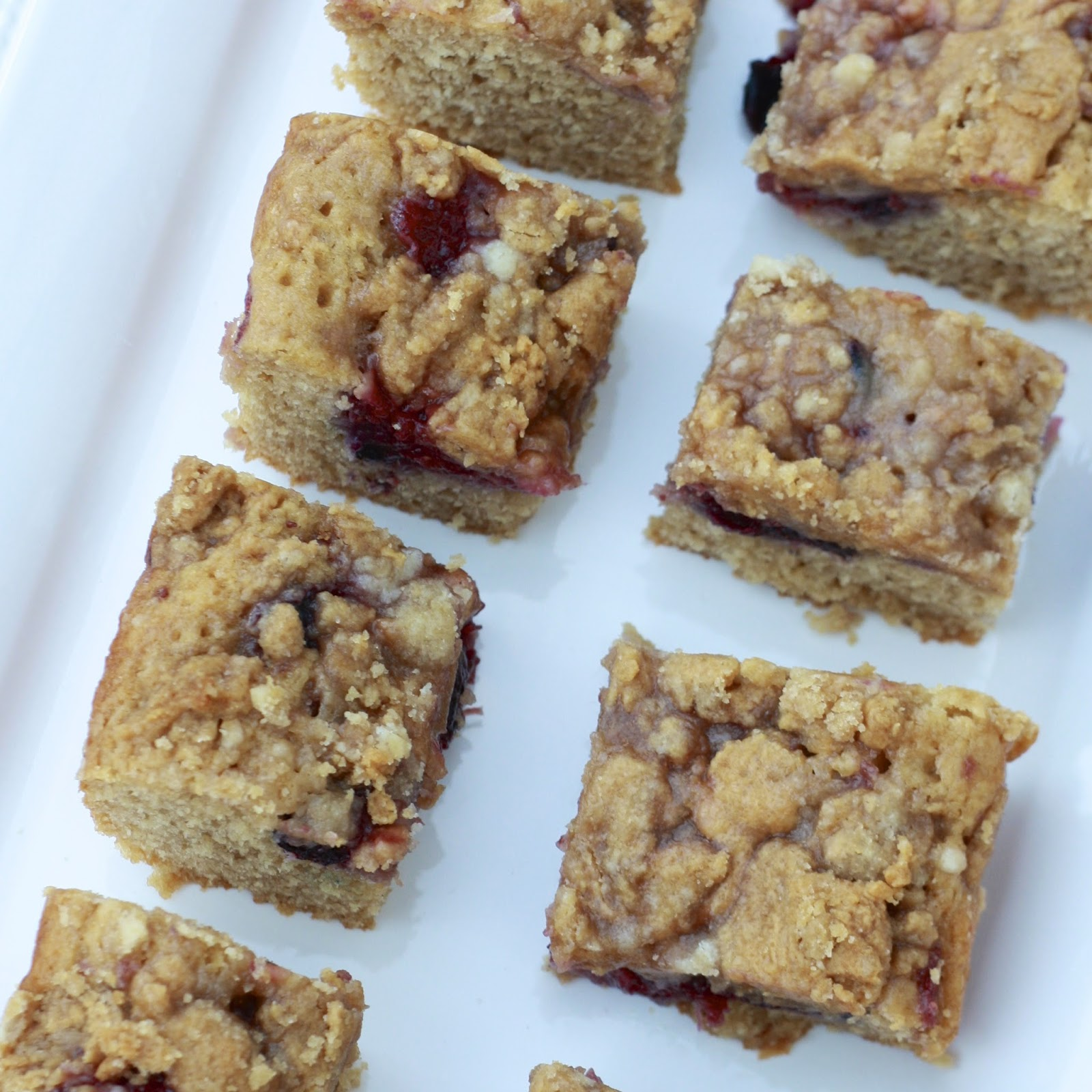 Peanut Butter and Jelly Coffee Cake | The Sweets Life