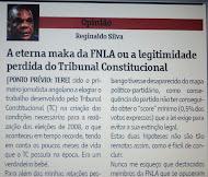 Maka da FNLA:Não concordo com o Tribunal Constitucional