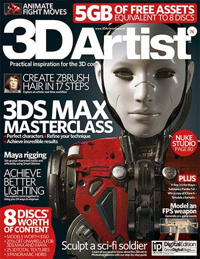 3D Artist Magazine Issue 76 2015