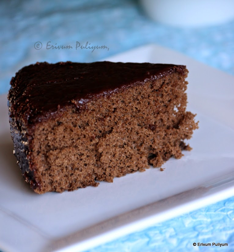 Chocolate Chiffon Cake (Step by Step Pics)