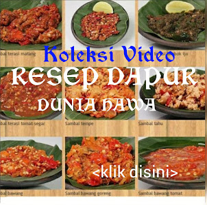 • • • VIDEO RESEP DAPUR DUNIA HAWA