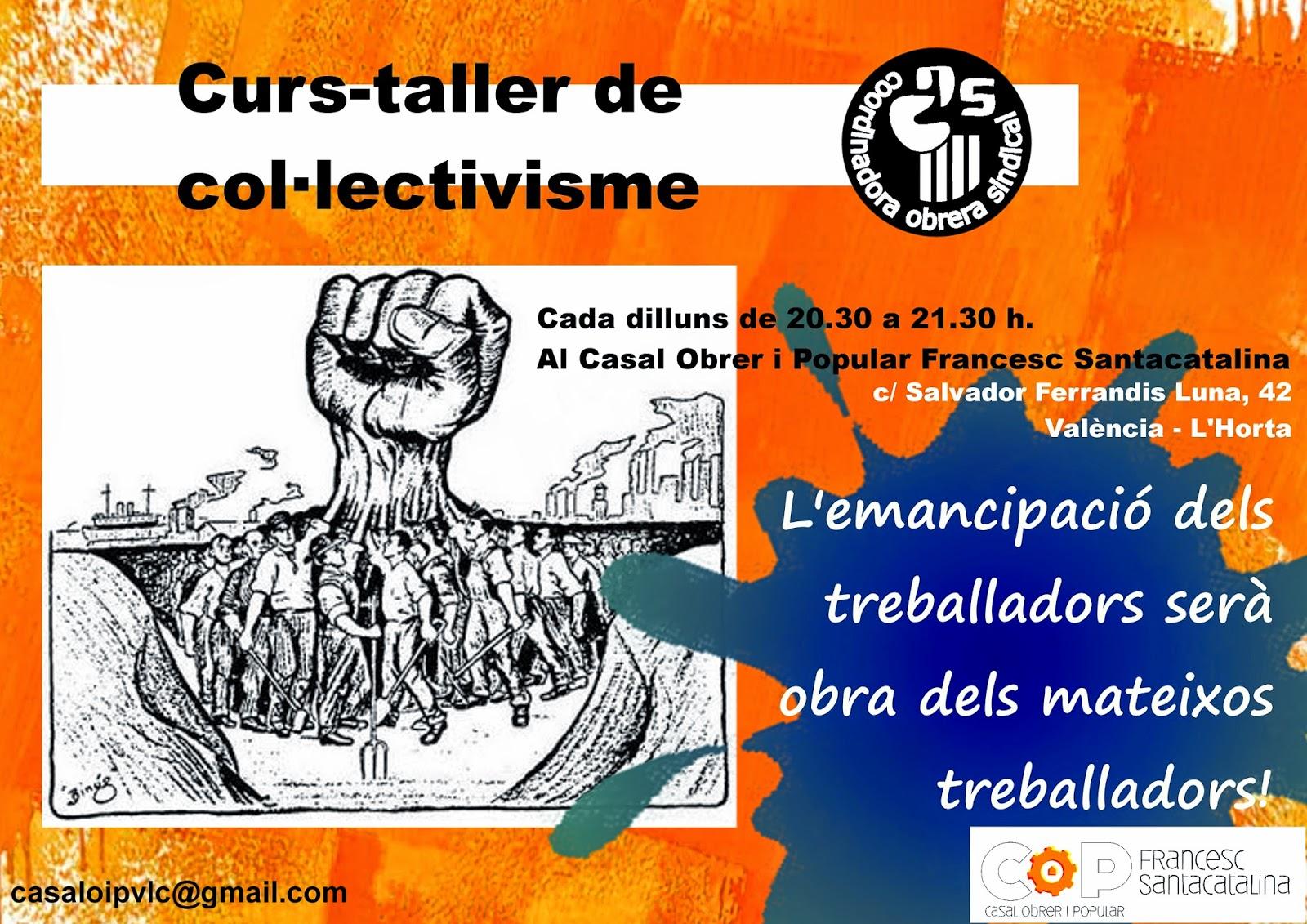 Curs-taller de col.lectivisme