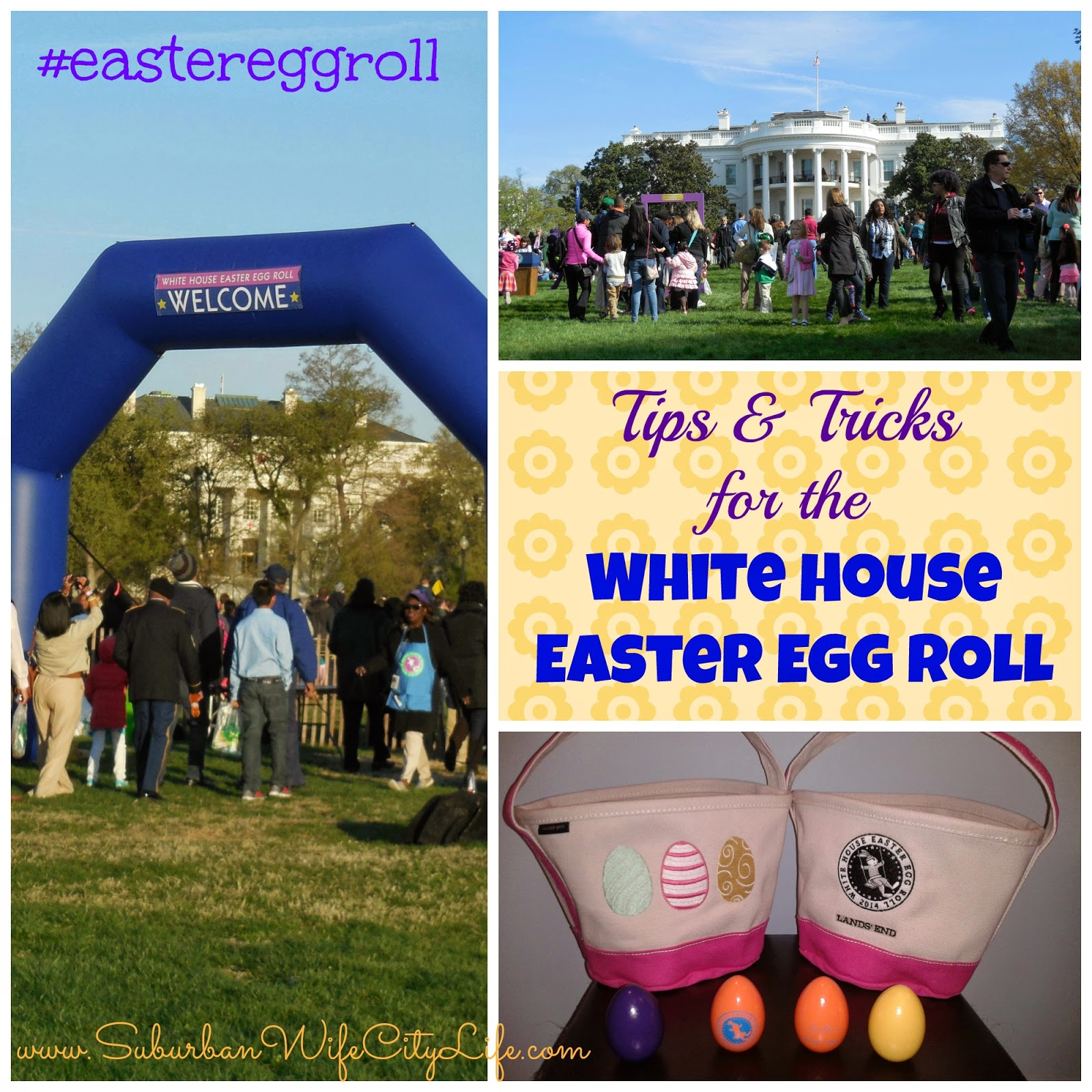 Tips & Tricks for the White House Easter Egg Roll #eastereggroll