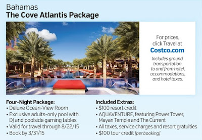 Costco Travel Package to the Bahamas