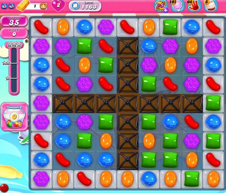 Candy Crush Saga 1163
