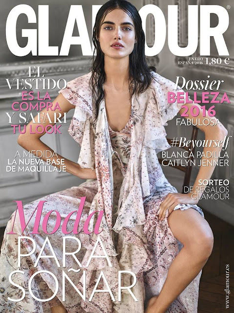Fashion Model, @ Blanca Padilla for Glamour Spain, January 2016