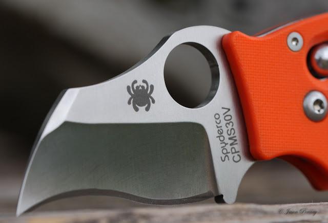 Spyderco Orange Dodo - Blade