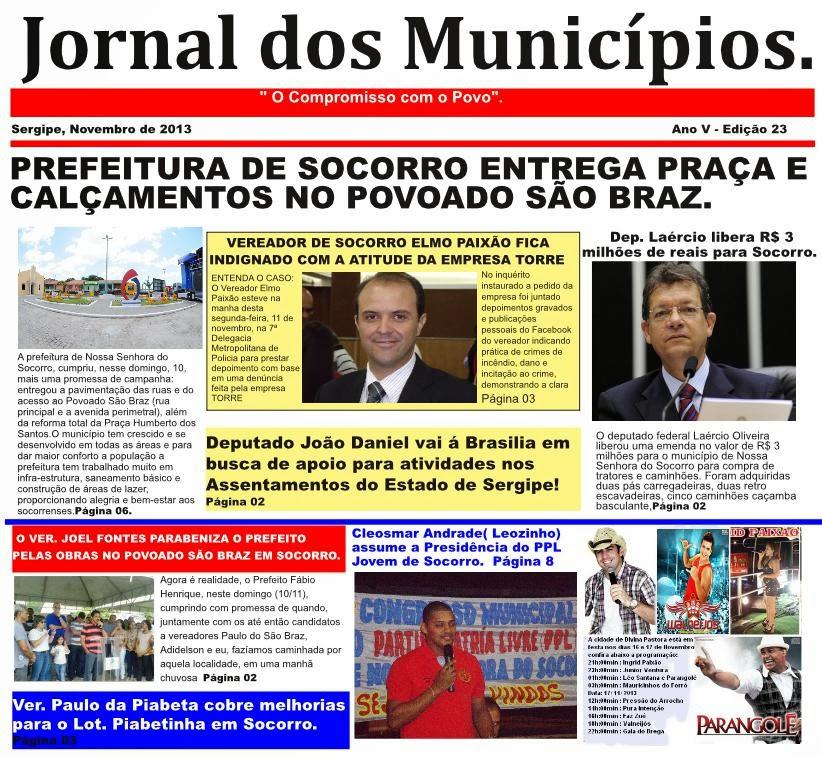 JORNAL DOS MUNICÍPIOS!