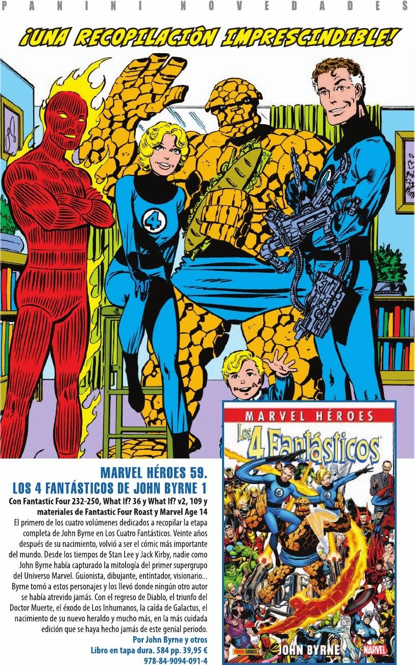 Marvel Héroes - Los 4 Fantásticos de John Byrne