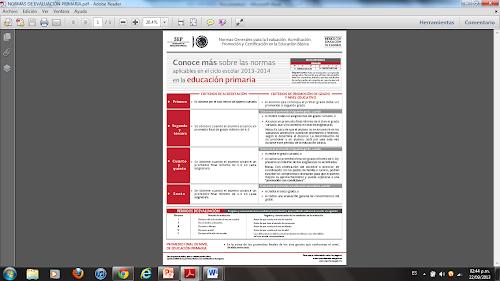 Cartilla De Evaluacin Preescolar 2013 2014 Instructivo | Consejos De ...