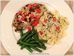 Cheesy Pesto Chicken