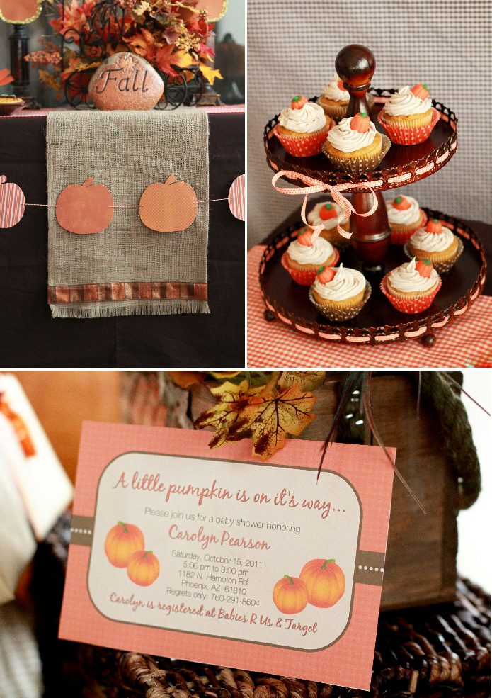 pumpkin baby shower party ideas little pumpkin baby shower party ideas