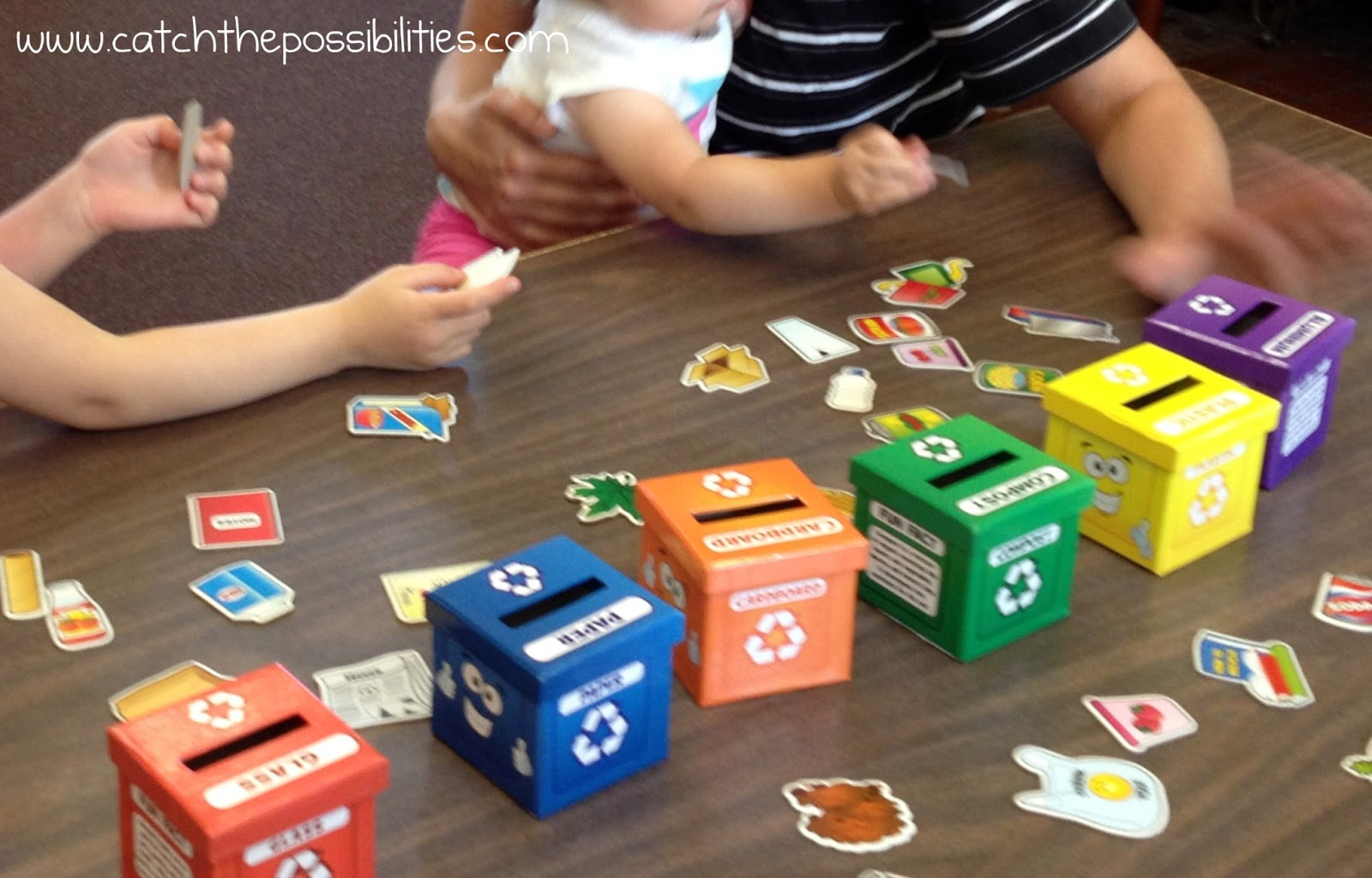 Preschool science recycling catch the possibilities for Recycling ideas for kids