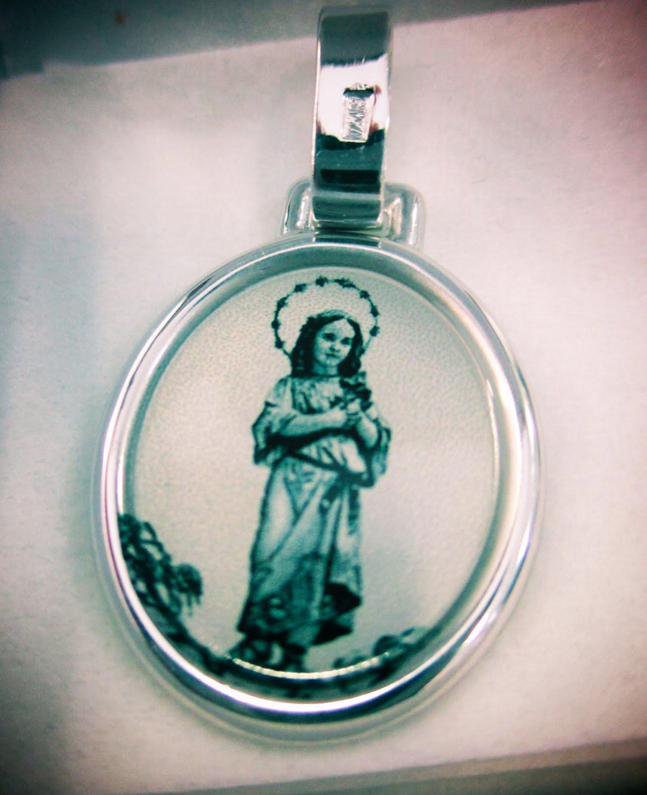 Plata Virgen Niña 56 €