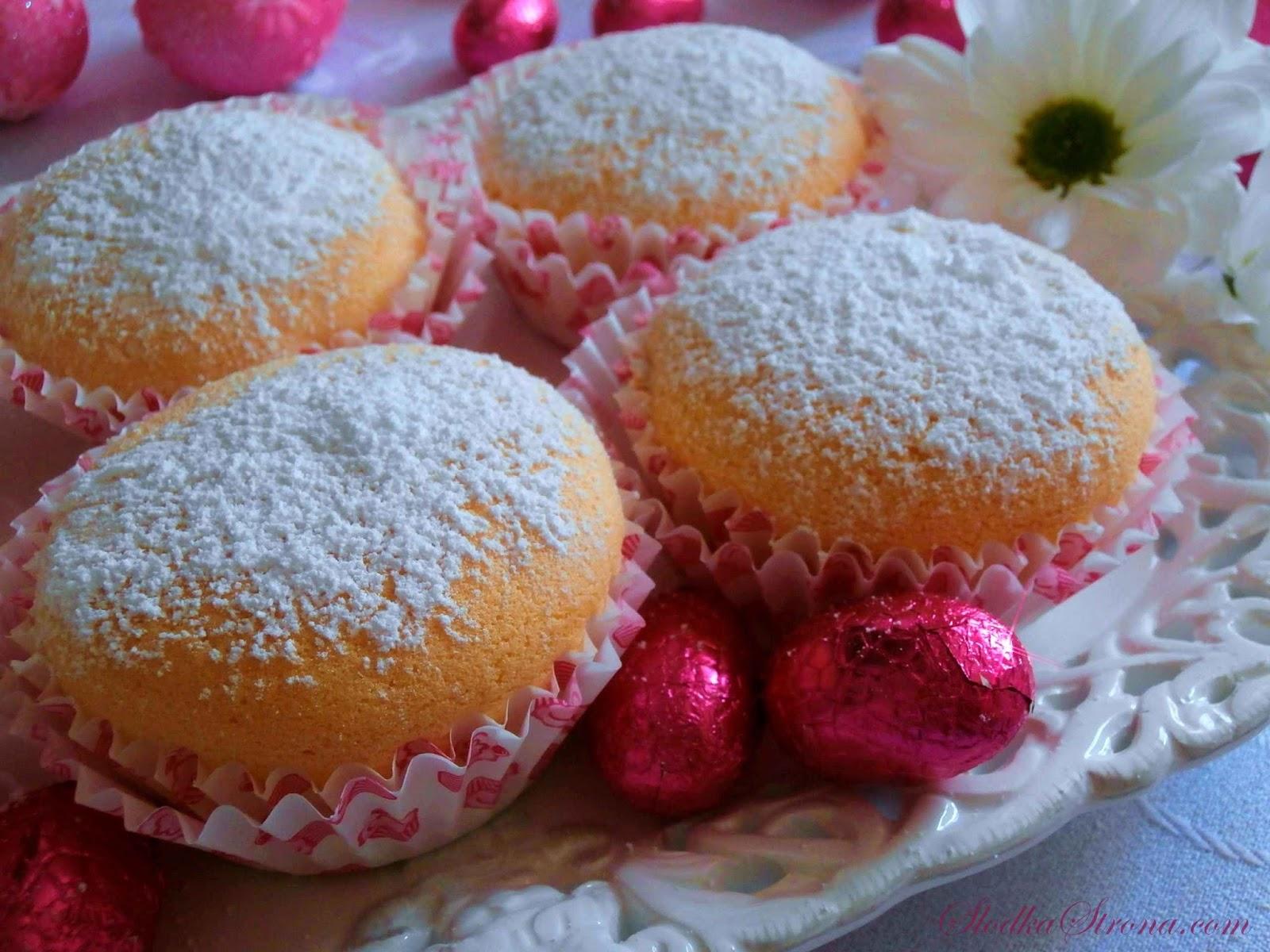 Biszkoptowe Babeczki, Muffinki - Przepis - Słodka Strona
