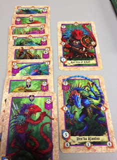 Lords of War lizardmen cards
