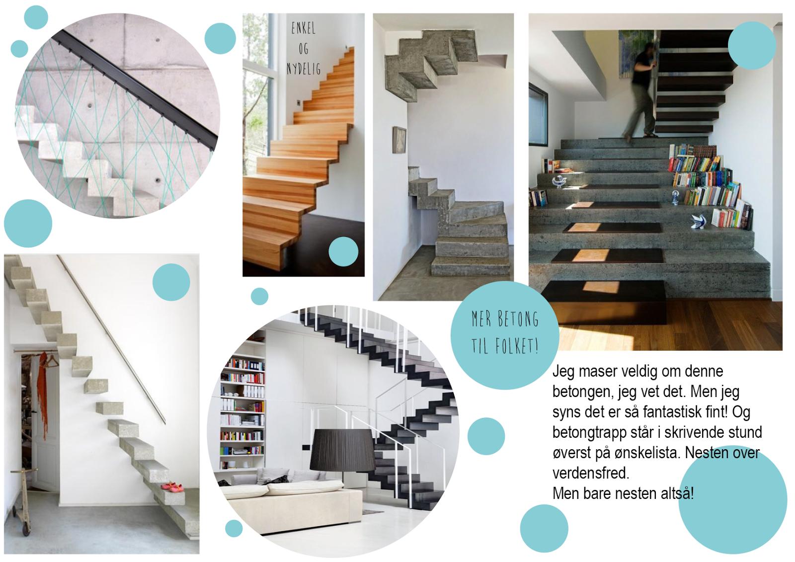 Her skal vi bygge og her skal vi bo: Inspirasjon trapp (del 2)