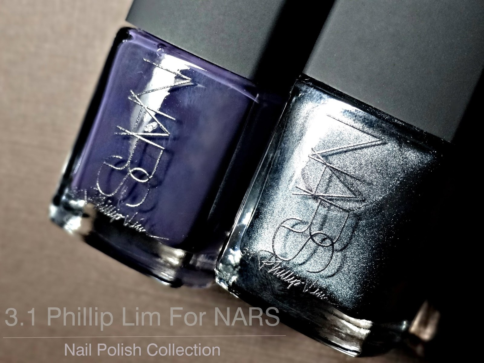 The 3.1 Phillip Lim for NARS Nail Collection Crossroads and Wrong Turn