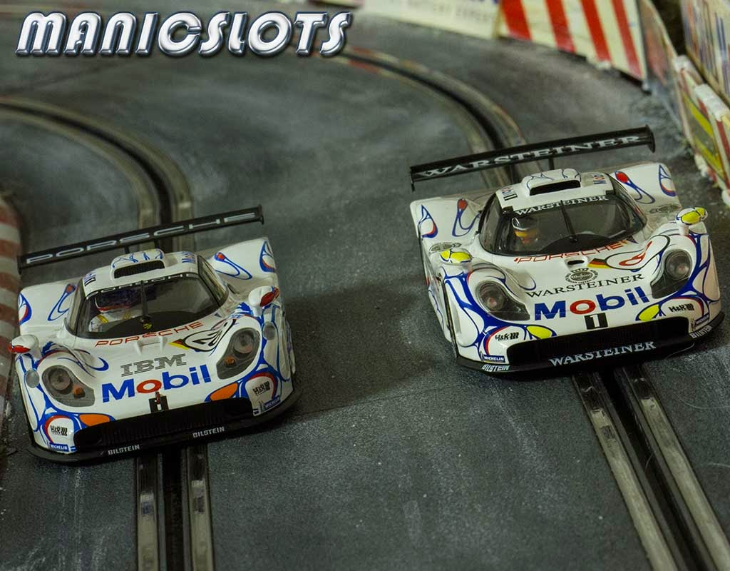manicslots 39 slot cars and scenery review porsche 911 gt1 98 le. Black Bedroom Furniture Sets. Home Design Ideas