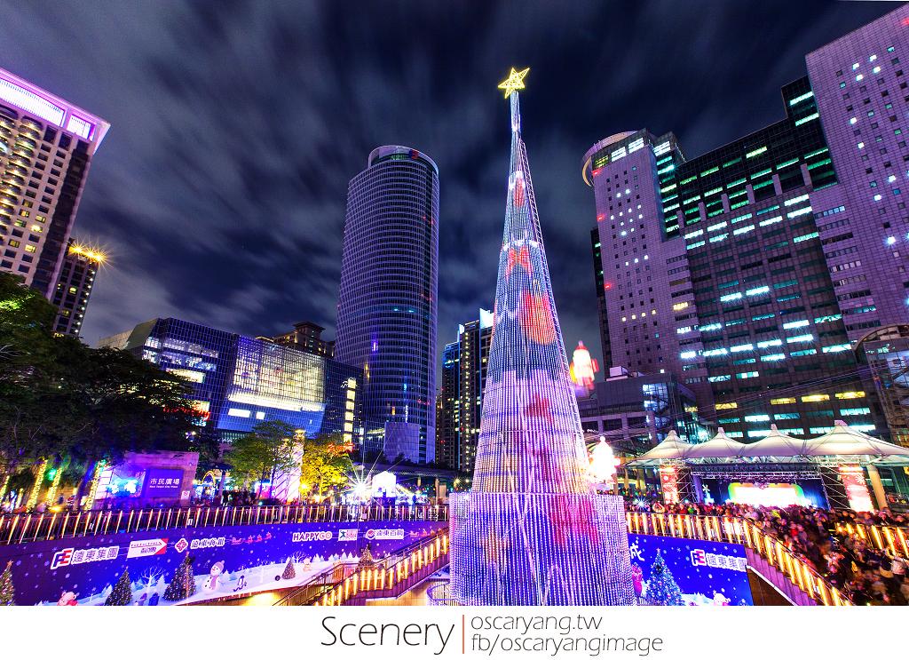 2013新北市歡樂耶誕城 EYE Taiwan X Oscar Yang