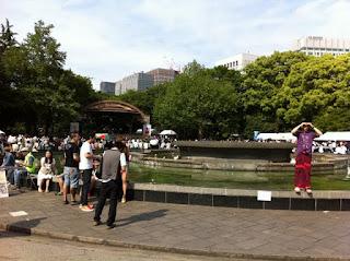 Burmese Water Festival Hibiya Park, Tokyo