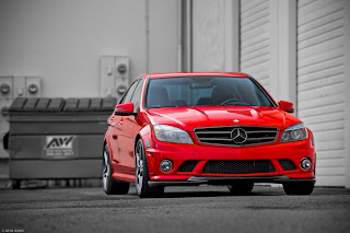 c63 amg red