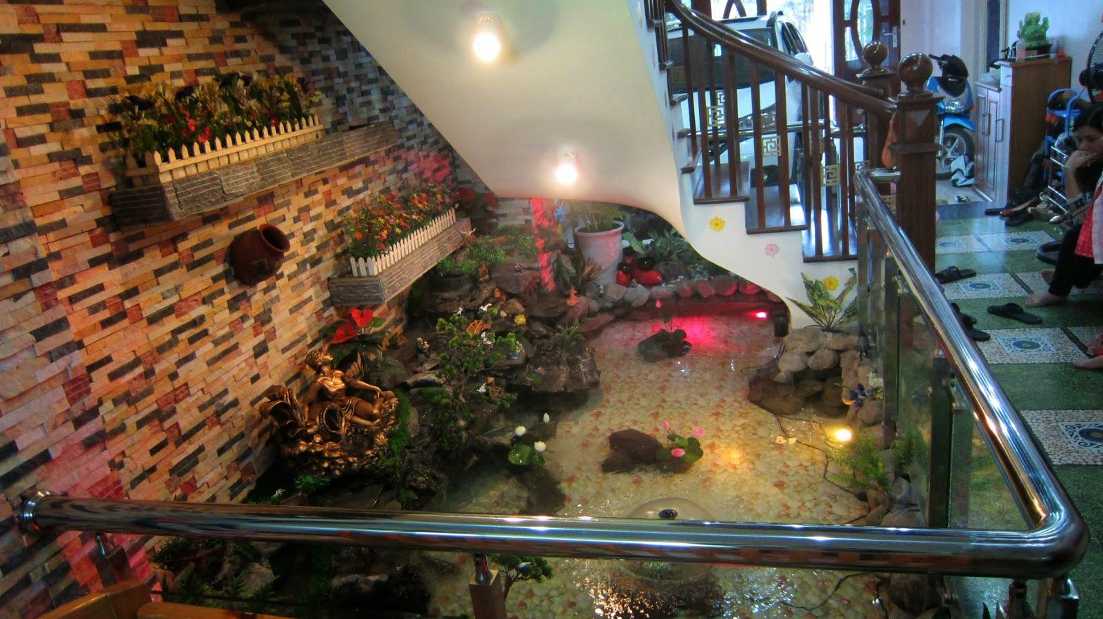bể cá gầm cầu thang