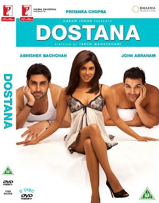 Dostana 2008 Hindi BRRip 480p 400mb