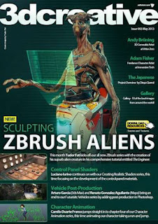 3D Creative Magazine Issue 93 May 2013