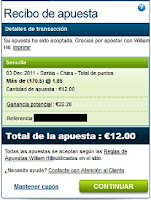Apuestas Voleibol - Copa del Mundo Serbia-China William Hill