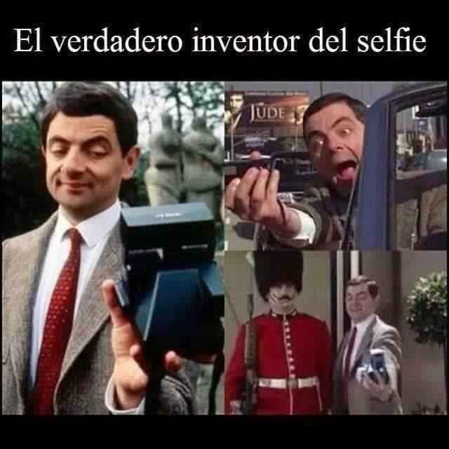 El inventó el selfie