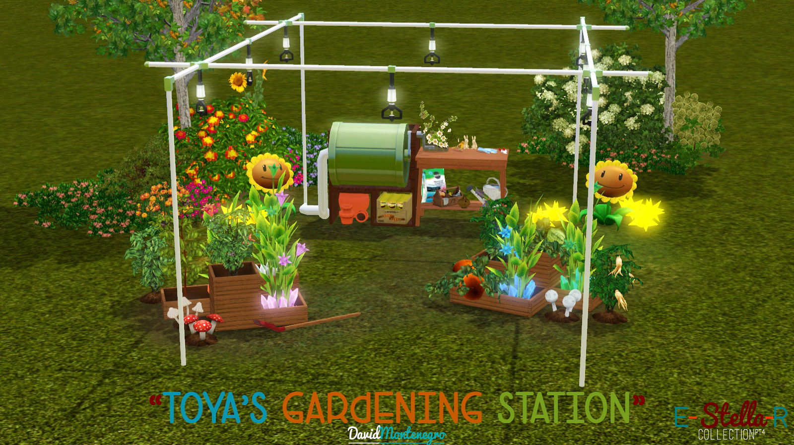 david montenegro toya 39 s gardening station a new one for