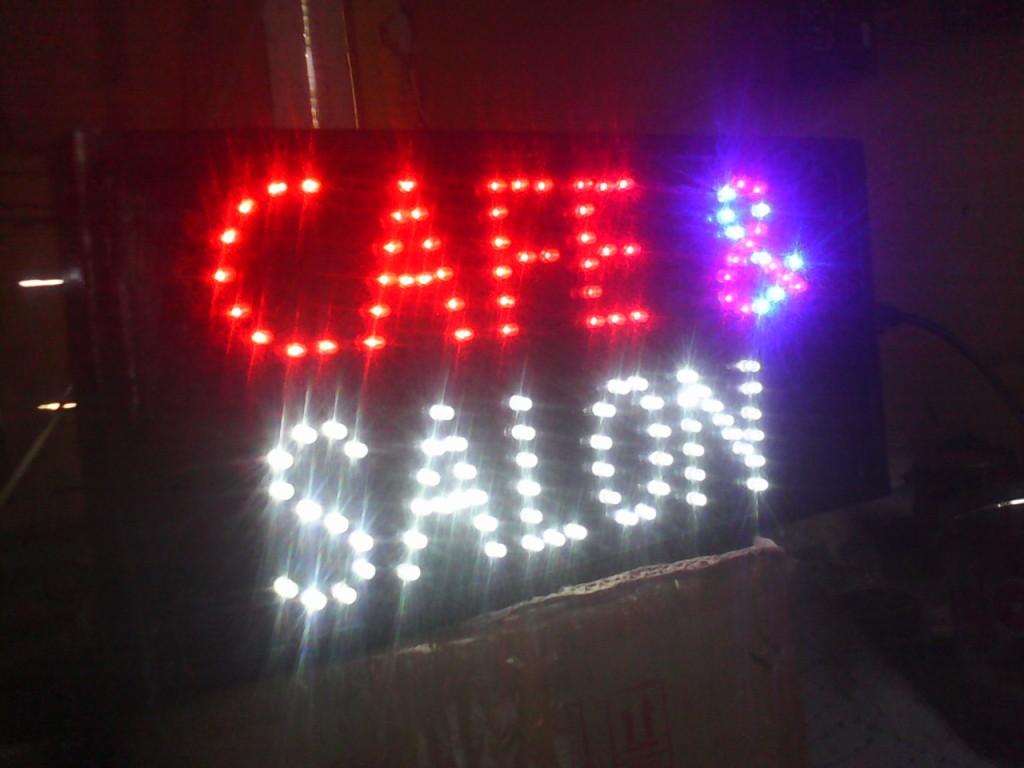 Jual Berbagai Macam Tulisan Dan Gambar Lampu Led Sign Grosir Salon Barber Cafe