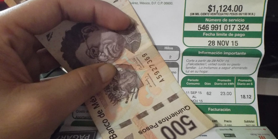 SOLICITARÁ SENADO A CFE EXPLIQUE AUMENTO A LAS TARIFAS ELÉCTRICAS.