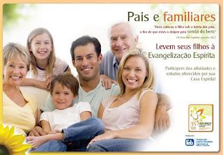 Leve sua família ao Espiritismo