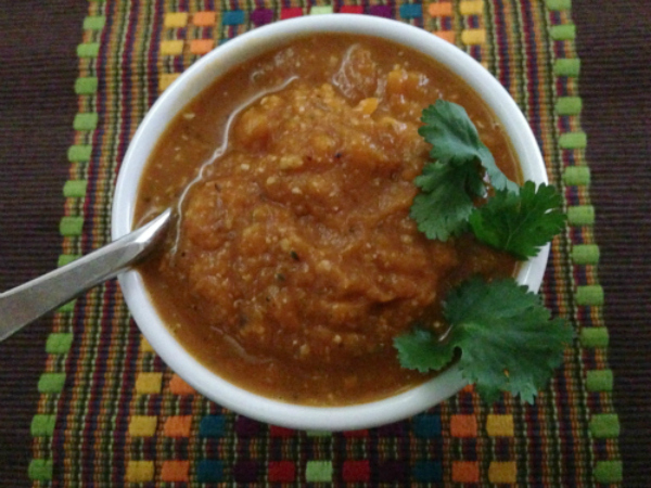 Vegan Butternut Squash Soup with Hemp Seeds - Kim's Welcoming Kitchen