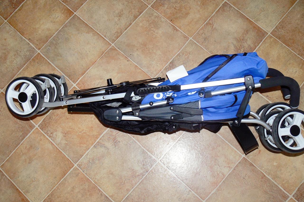 wózek Caretero Gringo złożony