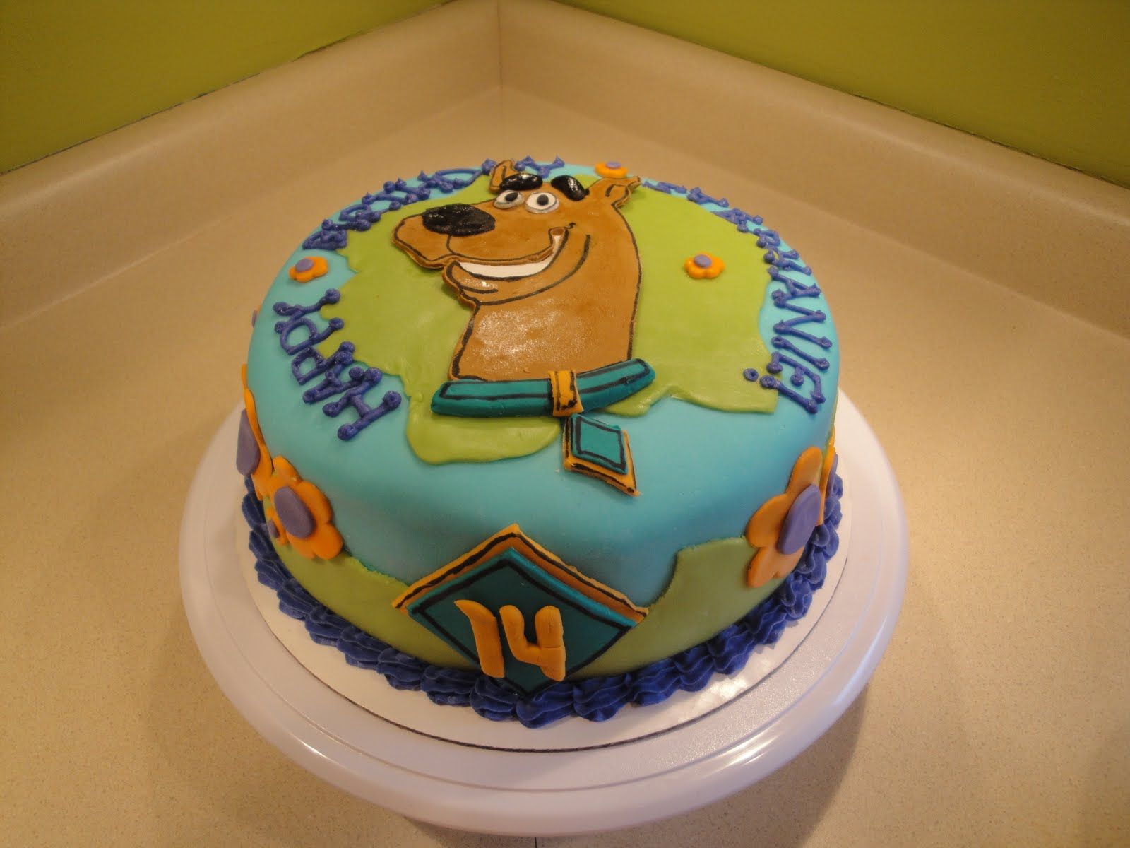 Scooby Doo Birthday Cake Tesco
