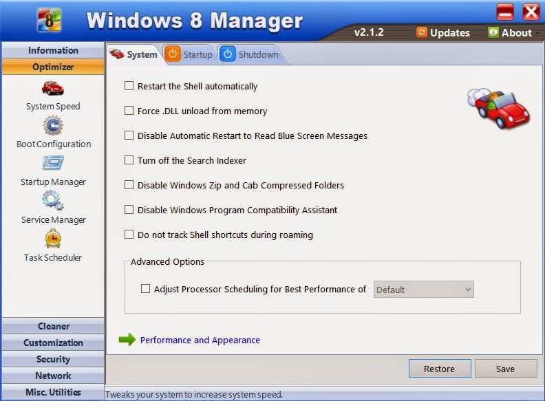 Windows 8 Manager 2.1.2 Full Patch
