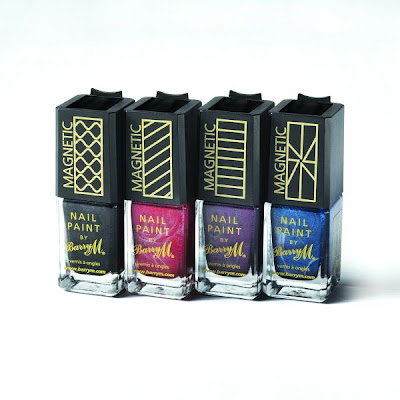 barry m magnetic nail effects polish varnish range