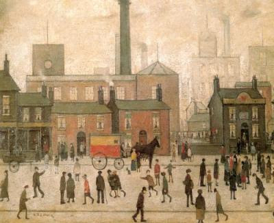 LS Lowry - Coming Home from the Mill