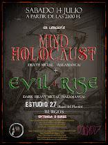 Mind Holocaust en Studio 27 de Burgos